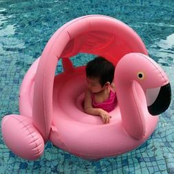 0 3 years old baby inflatable flamingo