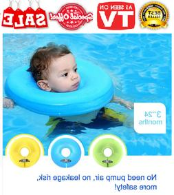 2018 Baby Neck Safety Swimming Ring Float Pool Spa Swimtrain
