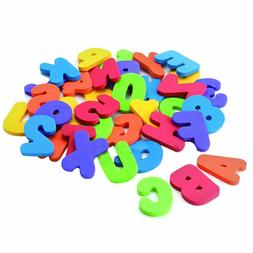 36Pcs Kids Bath Toys Learn Letters Numbers Stick Floating Ba