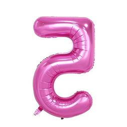 "C-Spin 40 INCH 5 Five Pink Big Foil Number Balloon 40"" Birth"