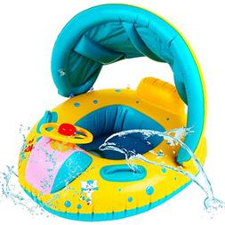 Here Fashion Baby Spring Float Swimming Ring Inflatable Swim