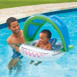 Play Day Baby Float with sun protective cover