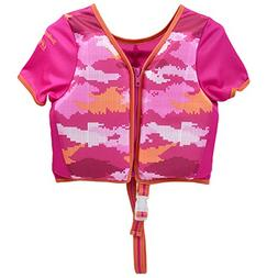 SwimSchool Swim Trainer Vest with Sun Protective Sleeves, Ad