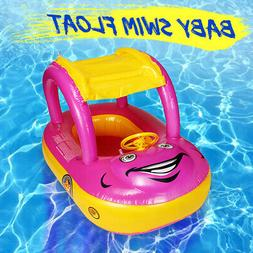 adjustable inflatable baby float seat boat ring