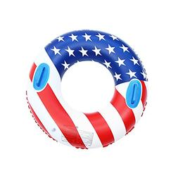 Baulody American Flag Swimming Rings for Adults Teens, Infla