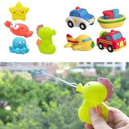 Baby Bathing Pool Tub Toys Floating natural Silicone Marine