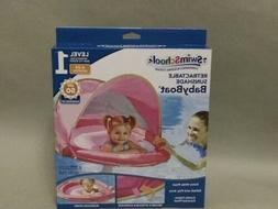 Swim School  Baby Boat Float Level 1 BRAND NEW GIRL/PINK 6-2