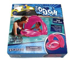 H2OGO Baby Care Seat Pool Raft Float Pink Girl Inflatable BE