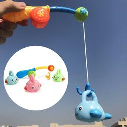 Baby Fishing Bath Toy Learning Fishing Floating Squirts Toy