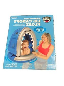 Baby Float Shark Lil Canopy 12-36 Months Toddler Water Open