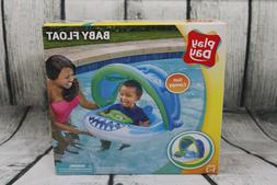 Play Day Baby Float with Sun Canopy Baby Shark Ages 1-2 New