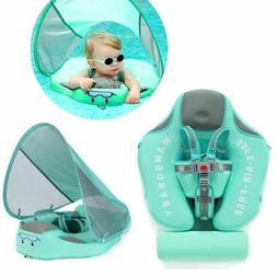 Baby Infant Non-Inflatable Float Lying Swimming Ring Childre