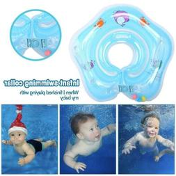 Baby Infant Swimming Pool Bath Neck Floating Inflatable Ring