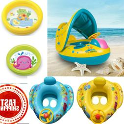 Baby  Inflatable Float Seat Boat Ring Pool Swim Inflatable S