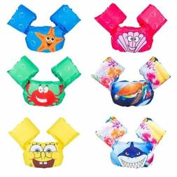 Kids Cartoon Life Jacket Safety Float Vest Puddle Jumper Swi