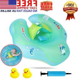 Baby Kids Inflatable Float Swimming Ring Swim Trainer Safety