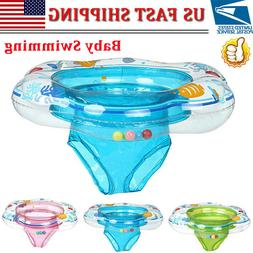 Baby Kids Inflatable Float Swimming Ring Trainer Safety Aid