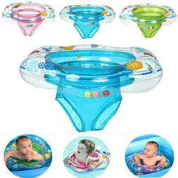 Baby Kids Inflatable Float Swimming Ring Trainer Fun Safety