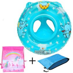Baby Pool Float for 3-36 month Kids with Double Handle,Infan