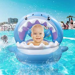 Baby Pool Float Swimming Floats Inflatable Shark Baby Floati