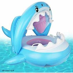 Baby Pool Floats Float Swimming Canopy Inflatable Floatie Ri