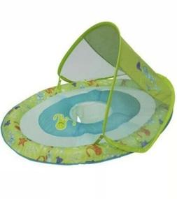 Baby Pool Spring Float SwimWays Sun Canopy boy Girl Neutral