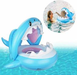 Baby Shark Pool Float Swimming Floats Ring Seat Inflatable