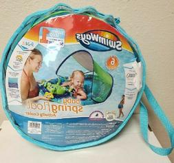 SwimWays Baby Spring Float Activity Center with Canopy - UPF