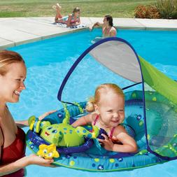 Baby Spring Float Activity Center with Canopy Octopus 50+UPF