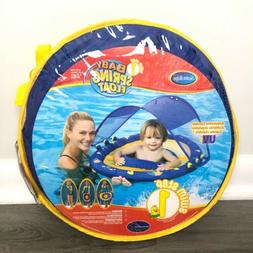 Swimways Baby Spring Float Sun Canopy 9 - 24 Months Swim Ste