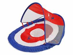 Swimways Baby Spring Float Sun Canopy Ages 9-24 M Blue/Red I