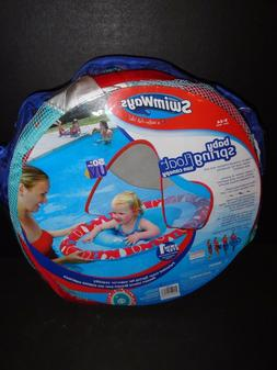 SWIMWAYS BABY SPRING FLOAT SUN CANOPY MULTI-COLOR   NEW