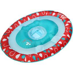 SwimWays Baby Spring Float Sun Canopy Red and Blue Baby Pool