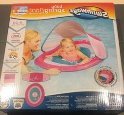 Swimways Baby Spring Float Sun Canopy Swim Step 1 - New