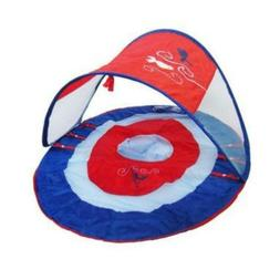 SwimWays Baby Spring Float with Sun Canopy for Infant/Toddle