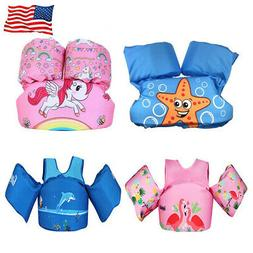 Baby Swim Arm Bands Kids Floats Life Jacket Toddler Swimming