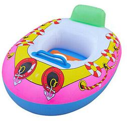 Baby Swim Ring Inflatable Toddler Float Boat Swimming Ring P