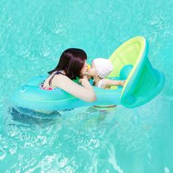 Baby Swim Ring Inflatable Toddler Neck Float Swimming Ring P