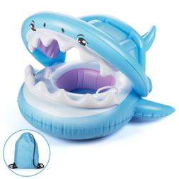 baby swimming pool float with canopy