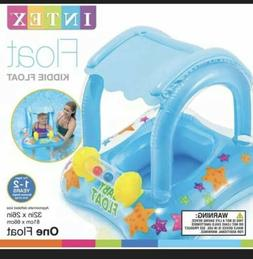 InTex BABY  SWIMMING Pool Infant Kiddie Float Raft With Cano