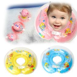 Baby Swimming Swim Ring Inflatable Circle Newborn Neck Float