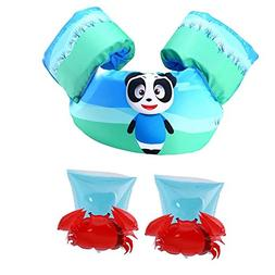 Basic Life Jacket Kids Toddlers Swimming Beginners Aids+ Inf