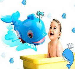 Baby Whale Bath Toy, Kids Floating Water Tub Toy Bathtub Swi