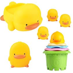 Piyo Piyo Bath Toy Gift Set