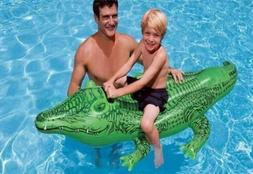 Big Ride-on Inflatable Raft Crocodile Gator Alligator Float