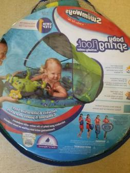 Blue SwimWays Baby Spring Float Sun Canopy Baby Float for In