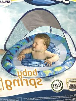 New SwimWays Blue Lobster Baby Spring Float Sun Canopy - Pha
