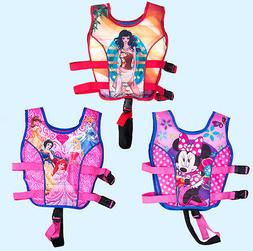 Children Float Swimming Aid Life Jacket Princess Baby Swimmi