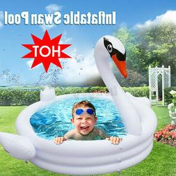 Children Inflatable Pool Swan Pool Kids Infant Swimming Pool