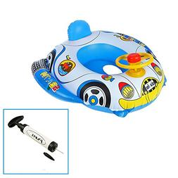 Sealive Controllable Carton Car Float Swim Ring,Toddler Infl